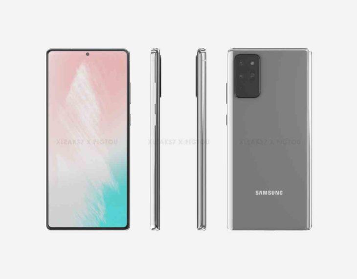 Galaxy Note 20 estándar