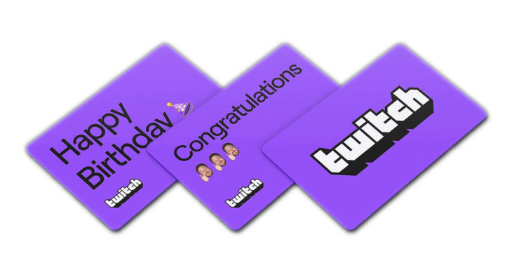 Twitch Gift Card