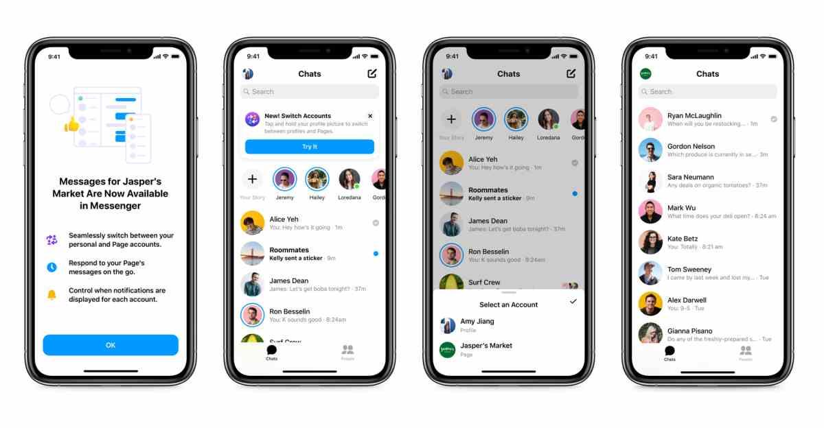 Messenger estrena función para que los dueños de los negocios puedan responder a sus clientes