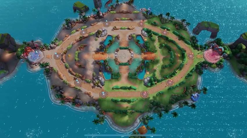 Captura mapa Pokémon Unite