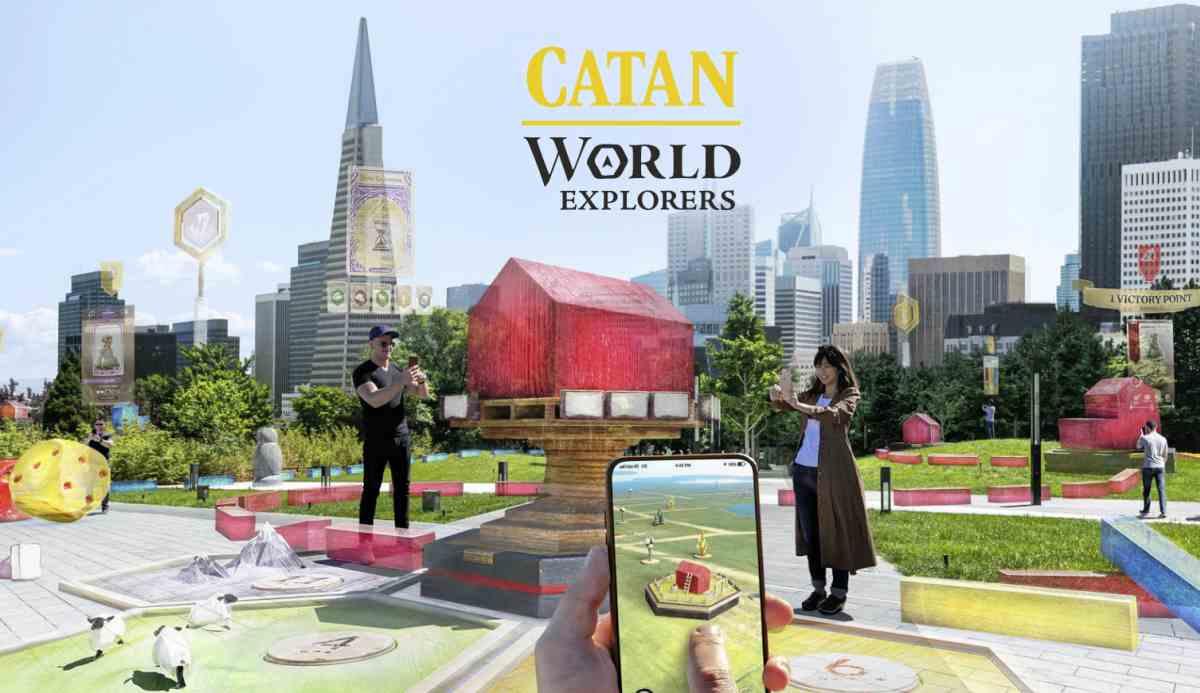 Niantic llevará al clásico juego de mesa Catan al mundo real con la realidad aumentada