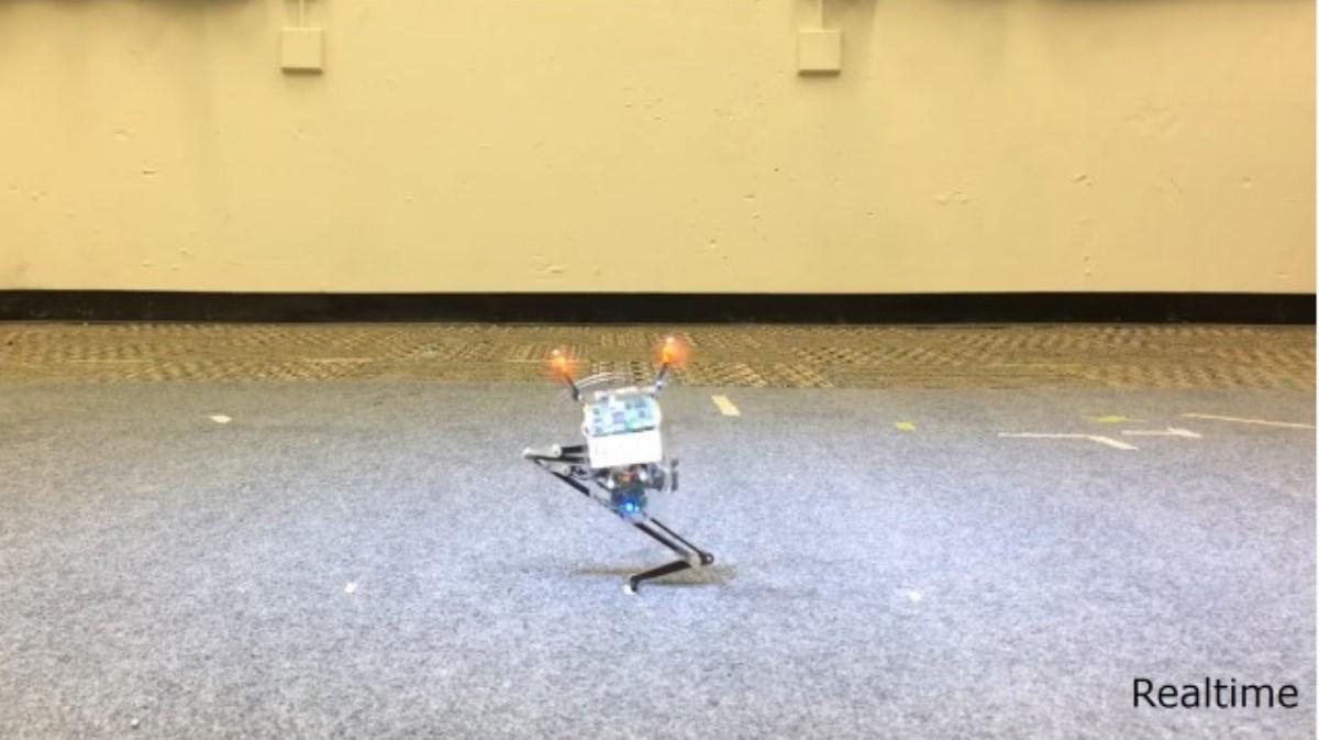 Conoce a Salto, el robot saltador que aterriza con precisión y estilo