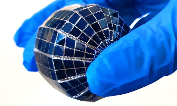 panel solar esferico