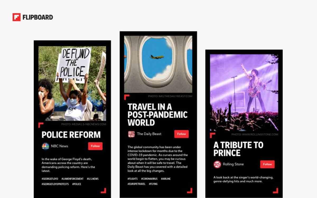 Storyboards, lo nuevo de Flipboard para crear colecciones de contenidos sobre cualquier tema