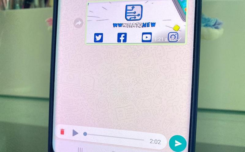 Escuchar audios en WhatsApp antes de enviarlos