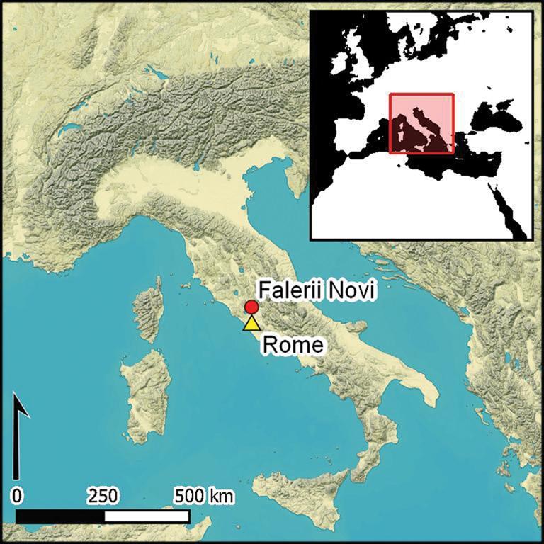 Falerii Novi ciudad romana ubicación