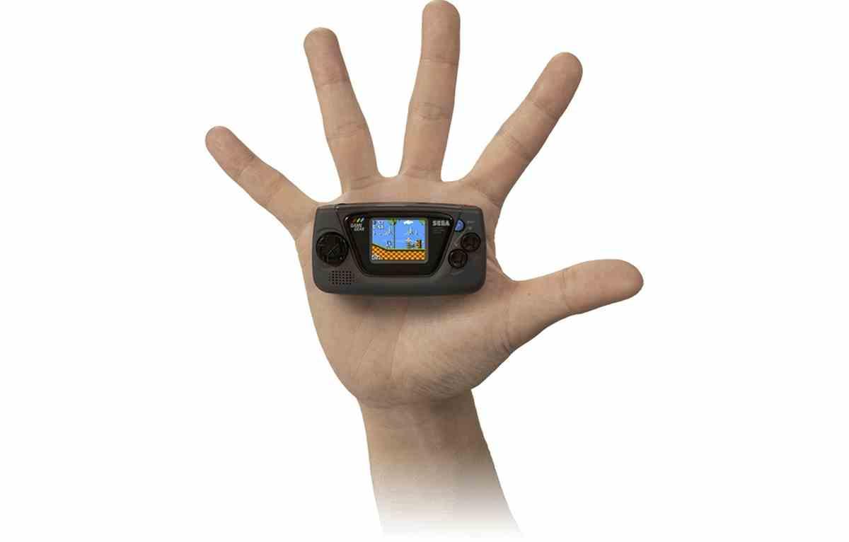 Así será Game Gear Micro, la nueva consola retro de Sega inspirada en la Game Gear original