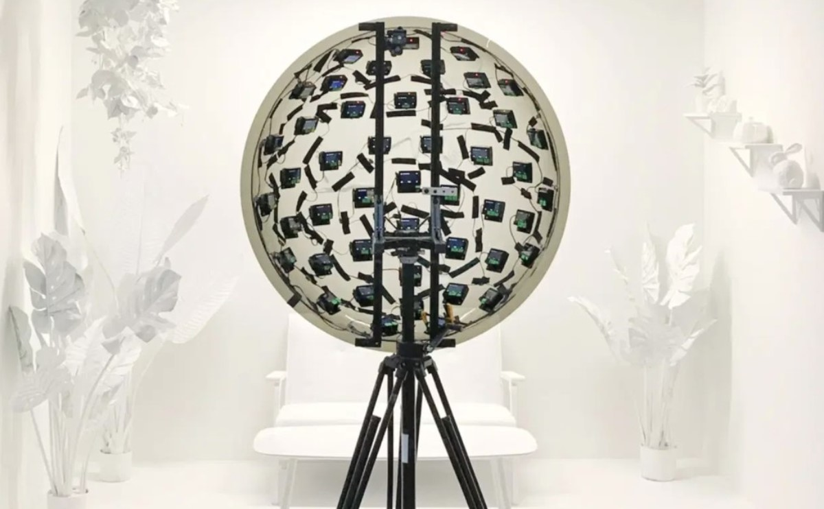 Google crea sistema de cámaras que permite ver en 3D y cambiar la perspectiva de un video en tiempo real