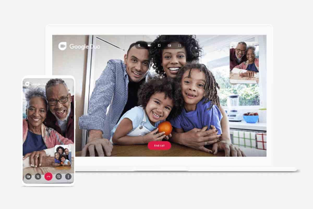 Google Duo ya permite las invitaciones a grupos de videollamadas mediante enlaces
