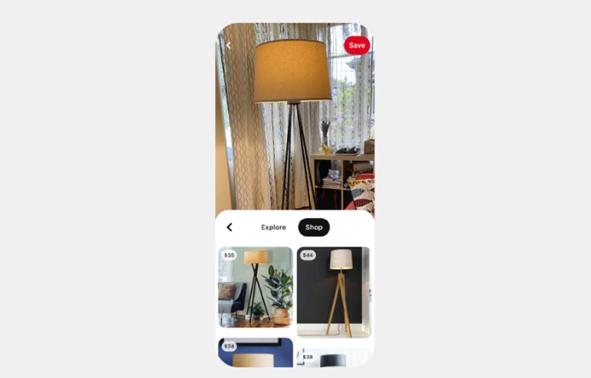 Pinterest añade una función que facilita comprar online