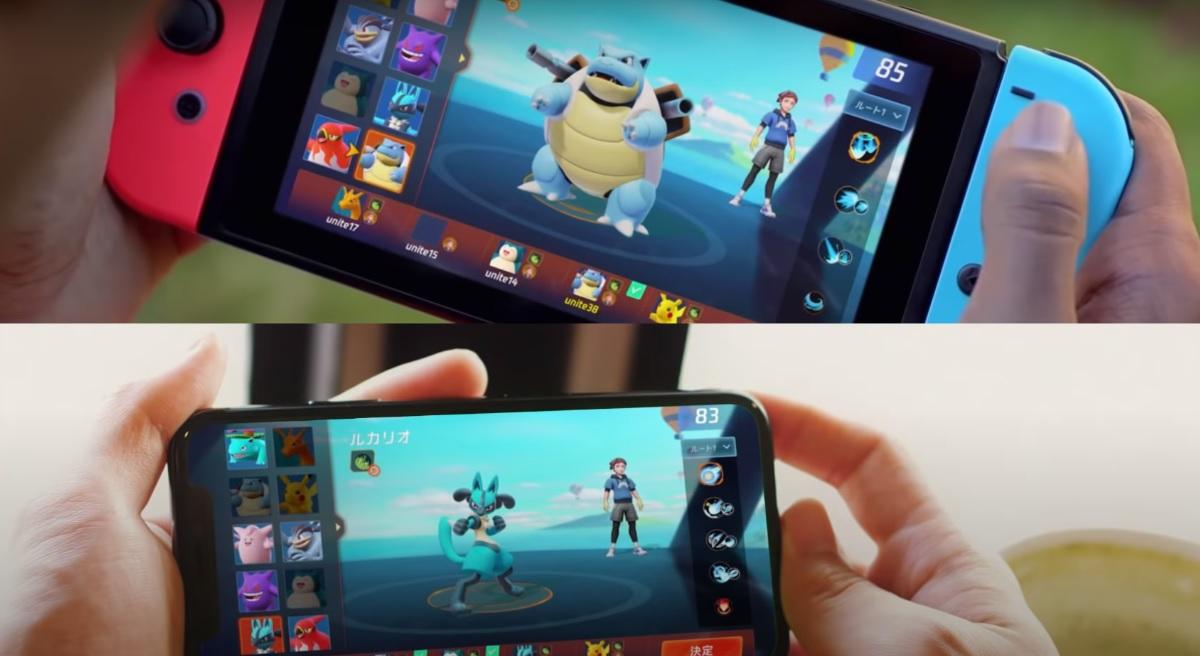 Pokémon Unite, el nuevo juego estilo MOBA de los creadores de Call of Duty: Mobile
