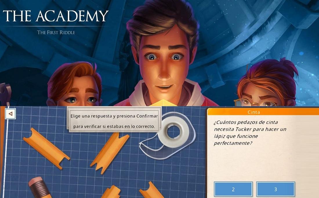 The Academy: un nuevo juego gratuito para Android con más de 200 acertijos