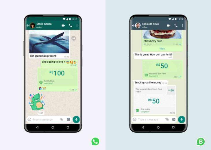 Nuevo servicio de pagos de WhatsApp