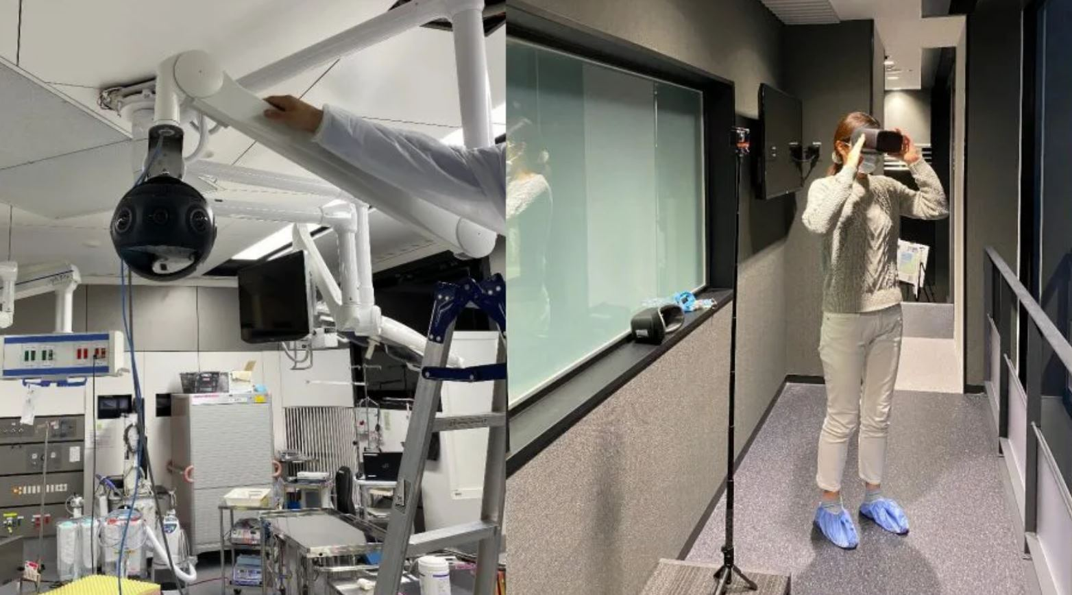 Realidad Virtual para transmitir cirugías reales en vivo a los estudiantes de medicina
