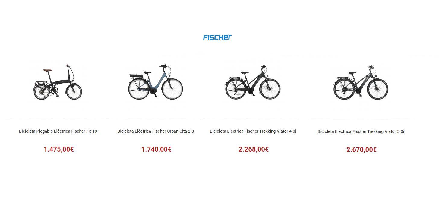 Fischer lanza sus bicicletas eléctricas en España