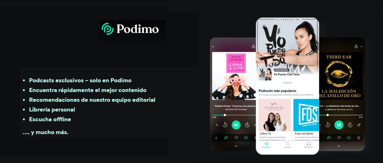 Podimo, plataforma de podcast que llega a España repartiendo beneficios