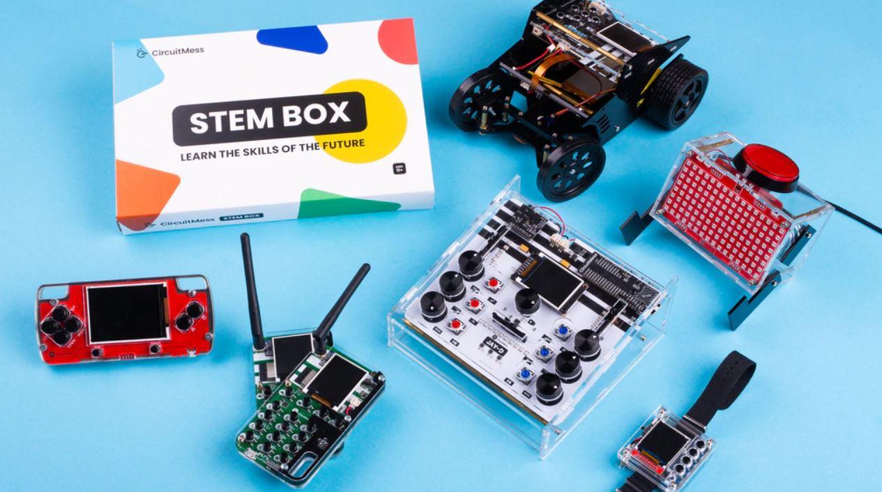 CircuitMess STEM Box, el nuevo kit para aprender electrónica desde casa