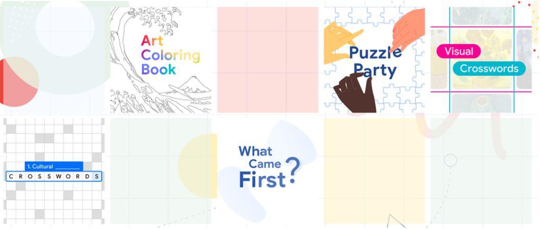 Juegos de arte y cultura organizados por Google