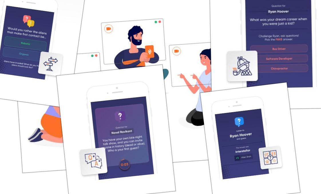 Para crear juegos online y disfrutar en grupo en las videoconferencias