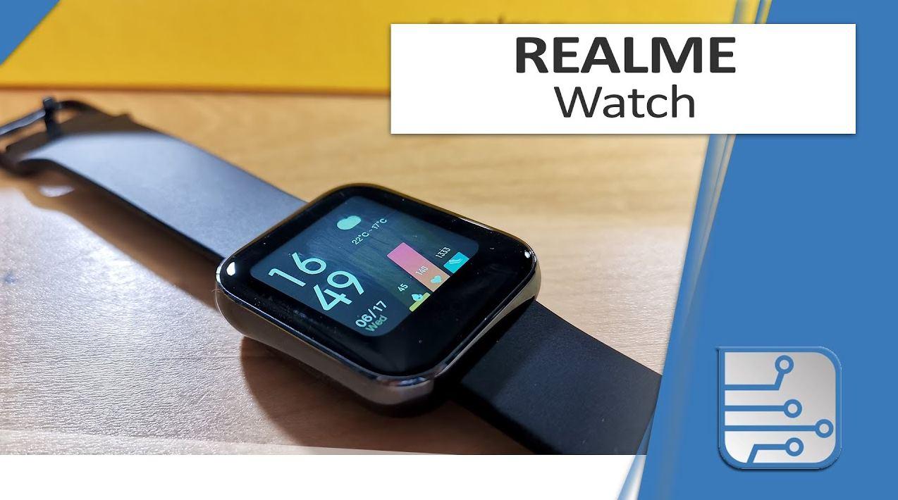 Realme Watch, el reloj inteligente de 50 euros, al detalle