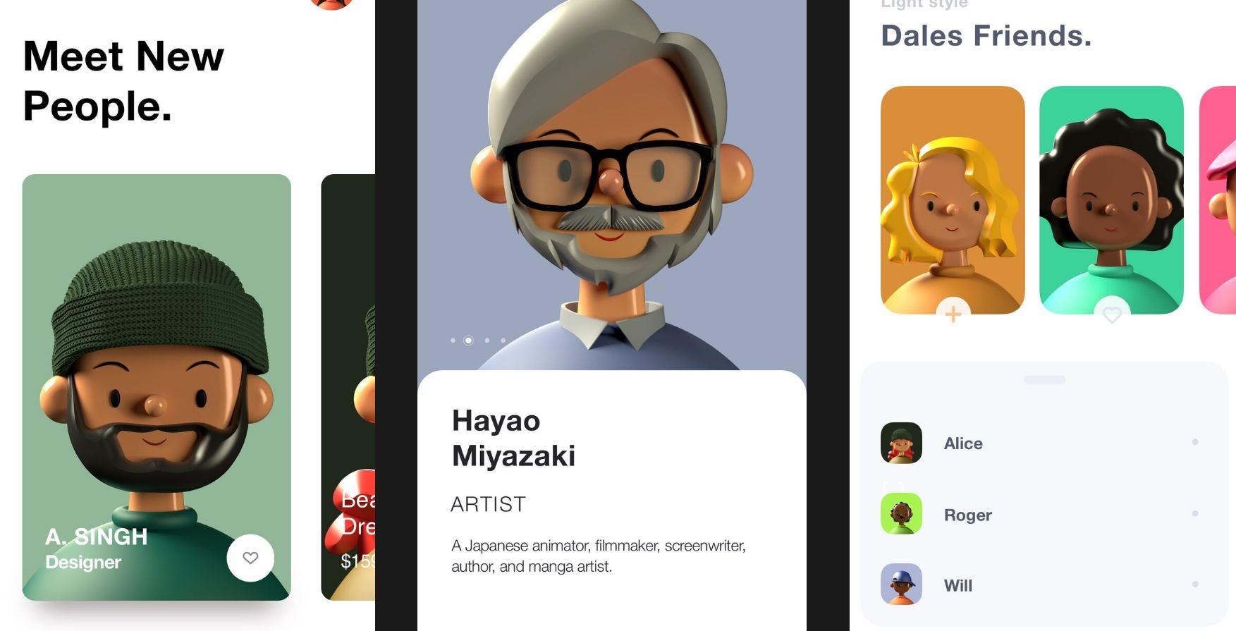 avatares 3D
