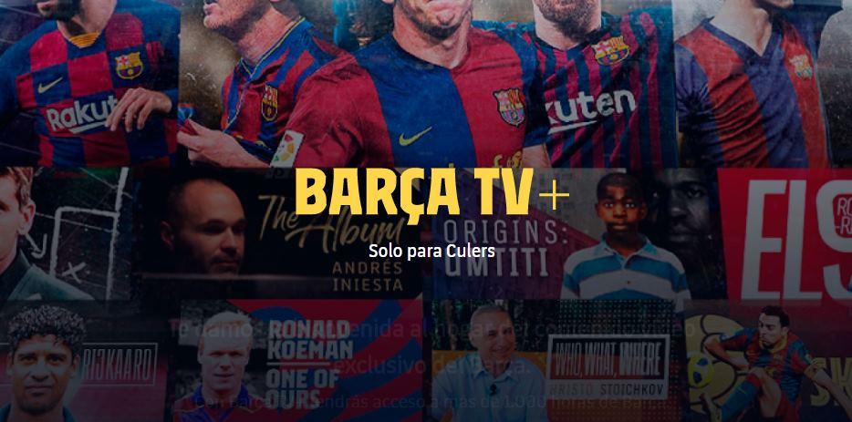 FC Barcelona lanza su propio servicio de Streaming, a lo Netflix