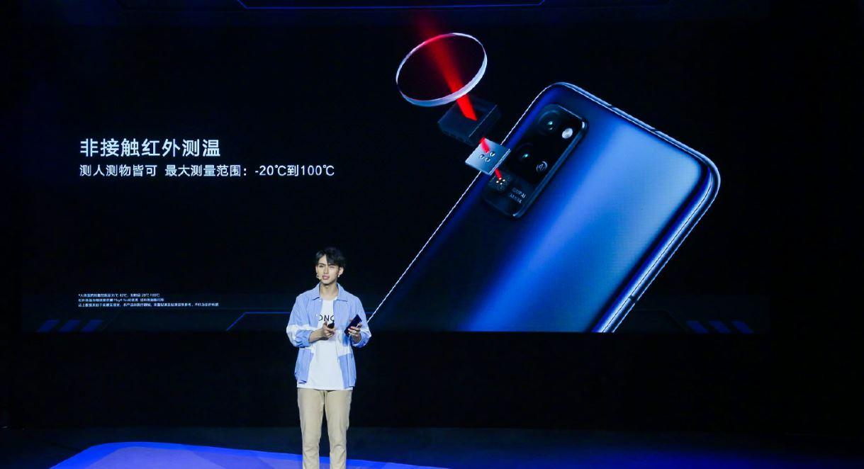 Huawei presenta teléfono que mide la temperatura