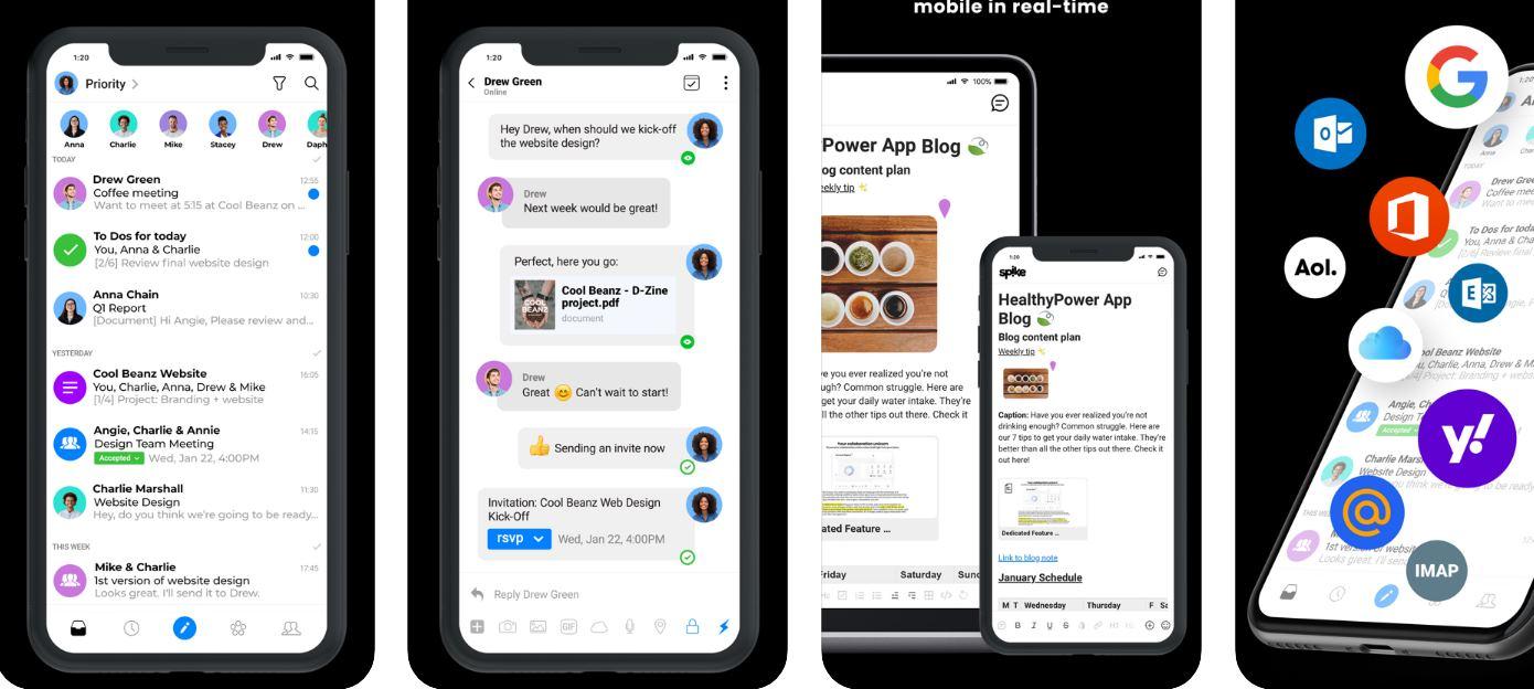 Spike 2.0, para mezclar email, notas, tareas, documentos y más en una sola plataforma