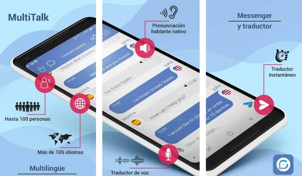 MultiTalk, para traducir en tiempo real las conversaciones entre varias personas al mismo tiempo