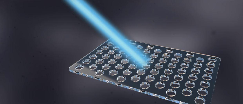 Un microscopio tan poderoso que puede ver a la luz moviéndose