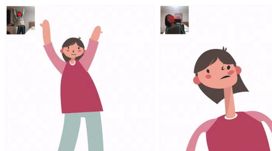 Para animar a un avatar en 2D usando nuestra cámara