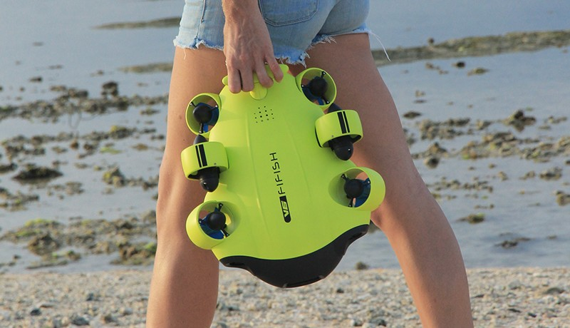 dron submarino fifish v6