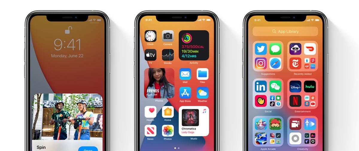 Todos los dispositivos compatibles con las novedades de Apple