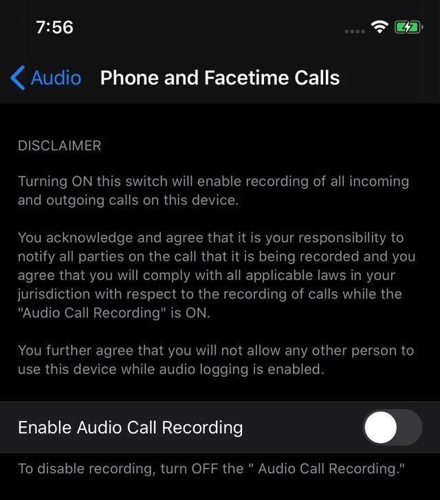 Captura de pantalla iOS