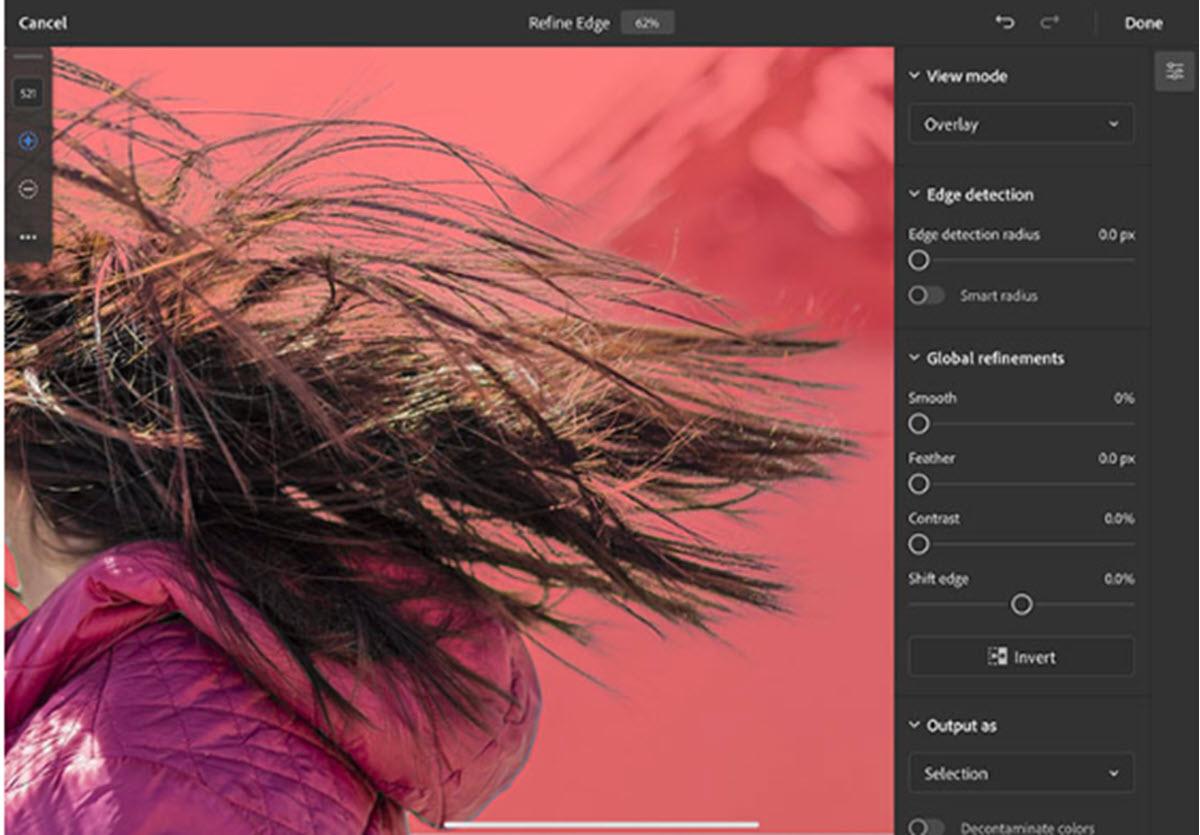 Adobe añade nuevas características a Photoshop para iPad