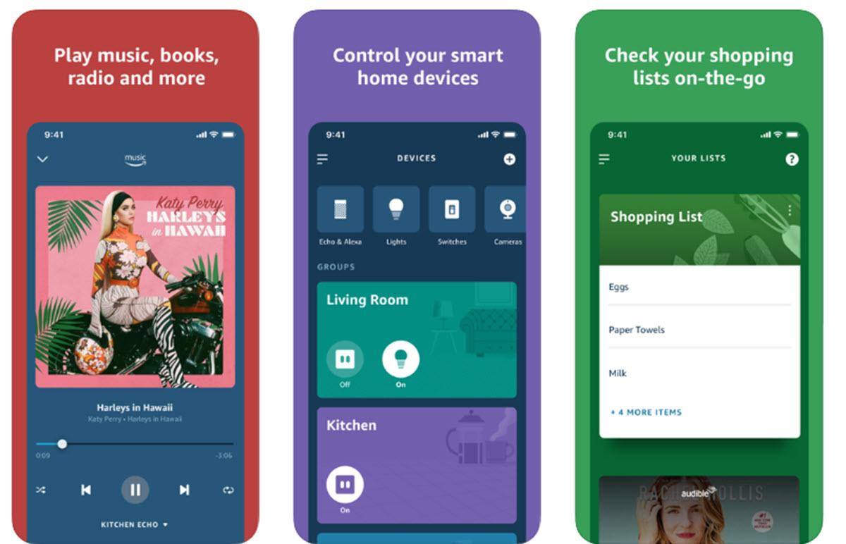 Amazon actualiza la app de Alexa con nuevo diseño y sugerencias personalizadas
