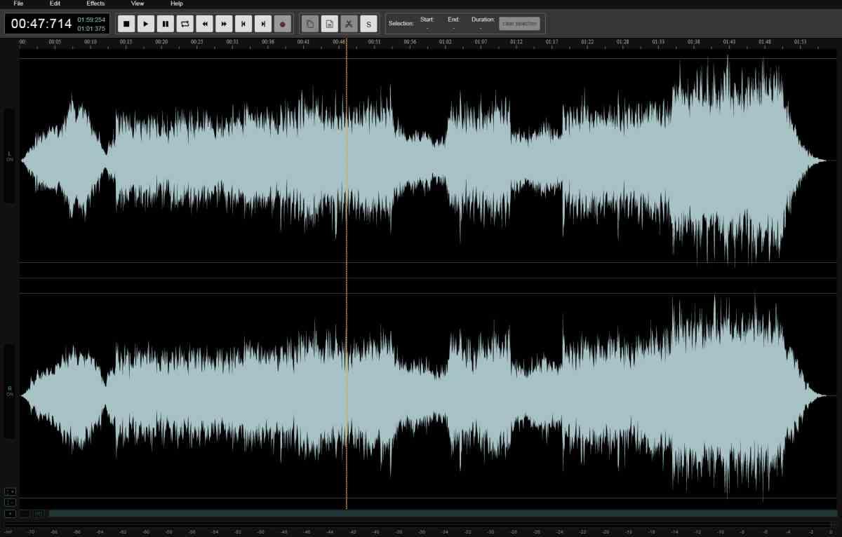 AudioMass: un sencillo editor de audio basado en la web