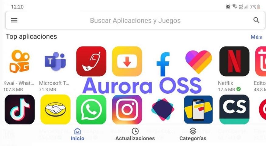 Aurora Store, para descargar aplicaciones android no disponibles en tu país