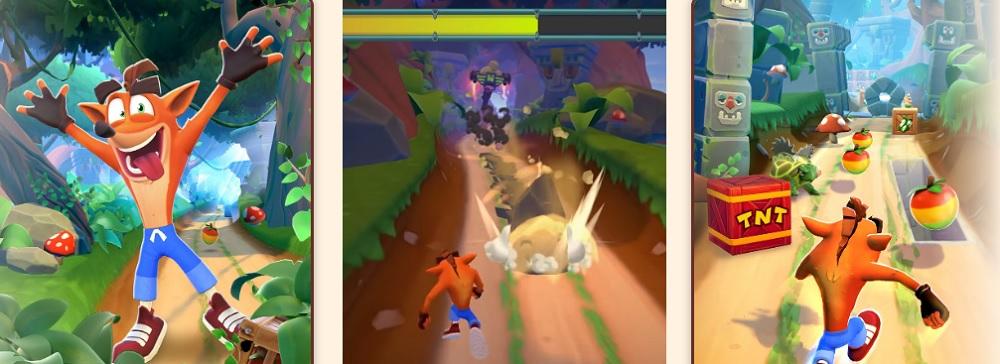 Crash juego