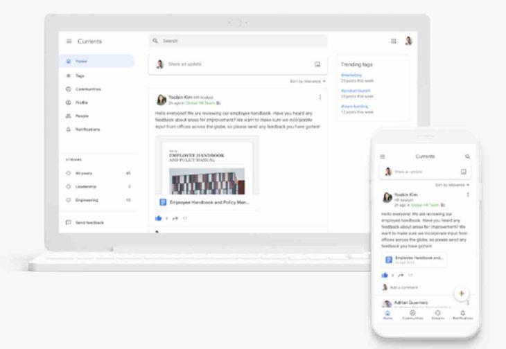 Google+ para empresas desaparece oficialmente en favor de Currents