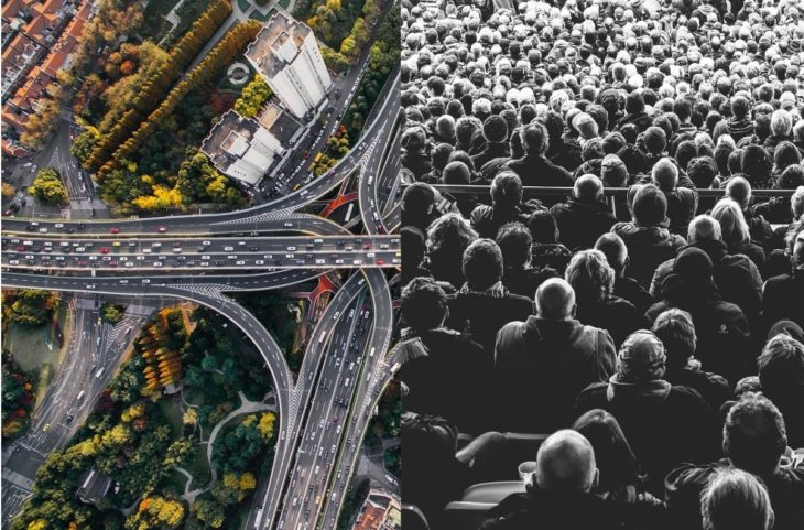 tecnologia para medir densidad de personas y vehiculos