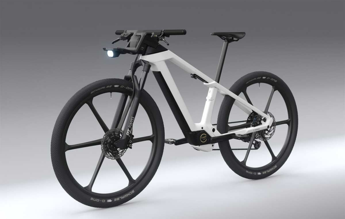 Design Vision, la bicicleta eléctrica futurista de Bosch