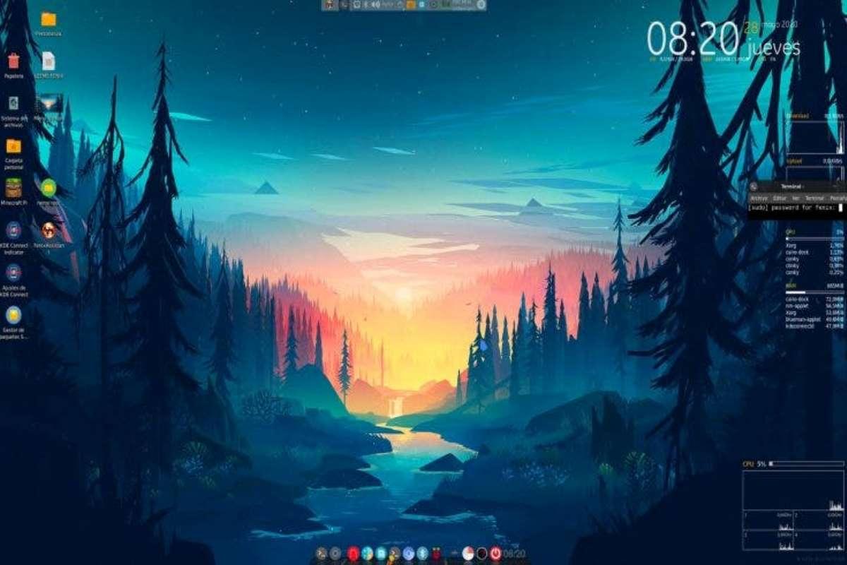 Fenix OS, distro de Linux con capacidad para dotar apariencia de MacOS y Windows