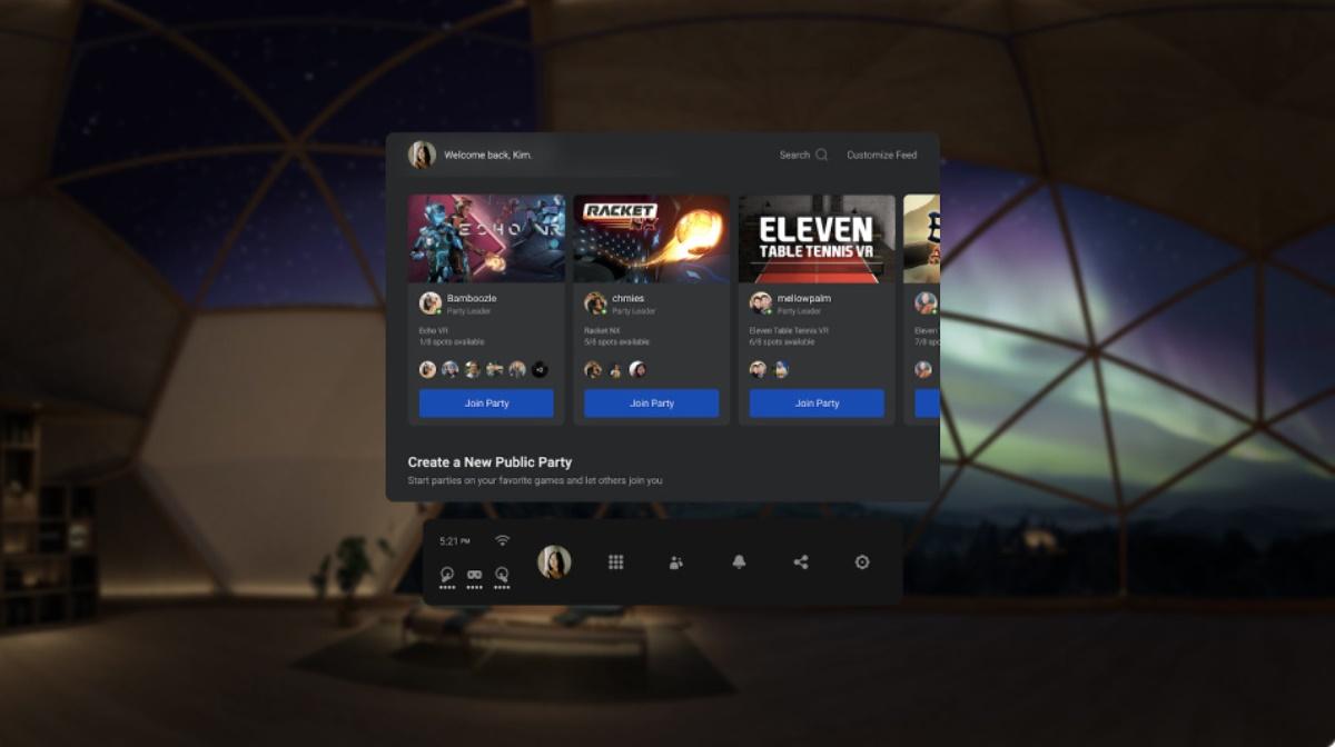 Gafas de realidad virtual Oculus llega con nuevas funciones para facilitar el juego con amigos