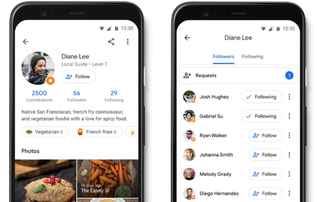 Google Maps ahora permite seguir a otros usuarios