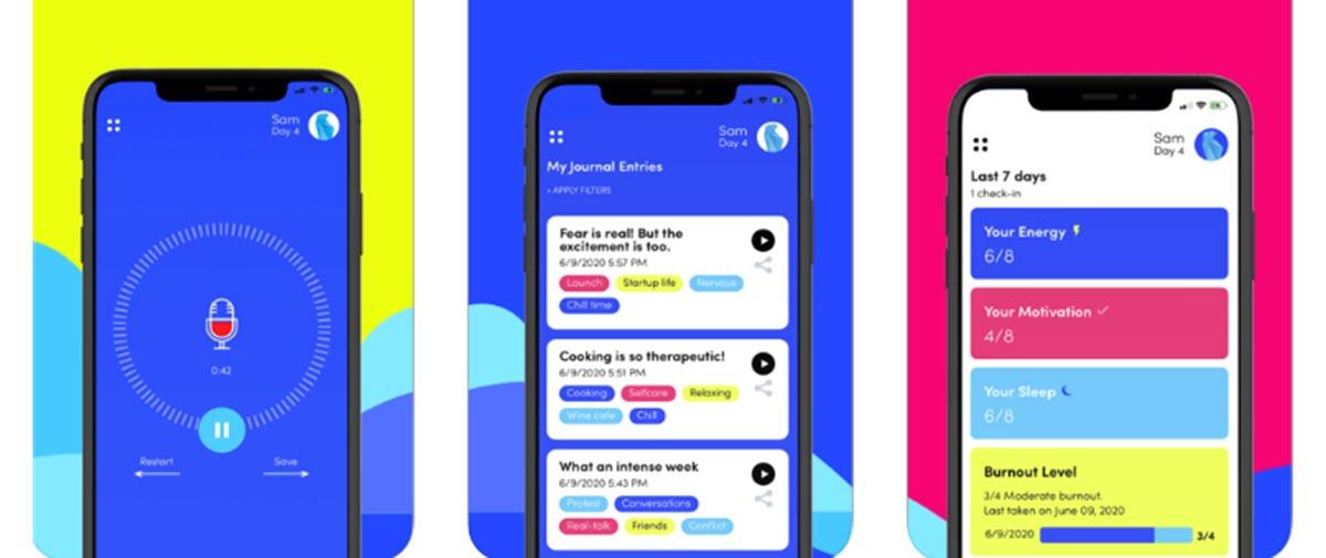 Una aplicación para crear un diario personal con notas de voz