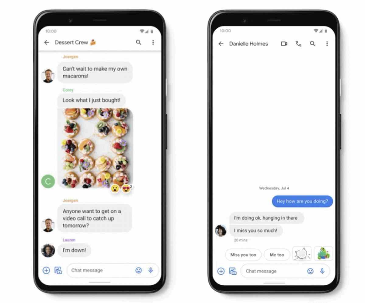 Google trata de competir con WhatsApp trayendo nuevas funciones a Mensajes