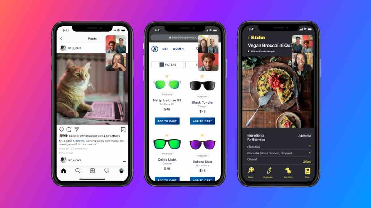 Facebook expande la función de pantalla compartida a Messenger para Android e iOS