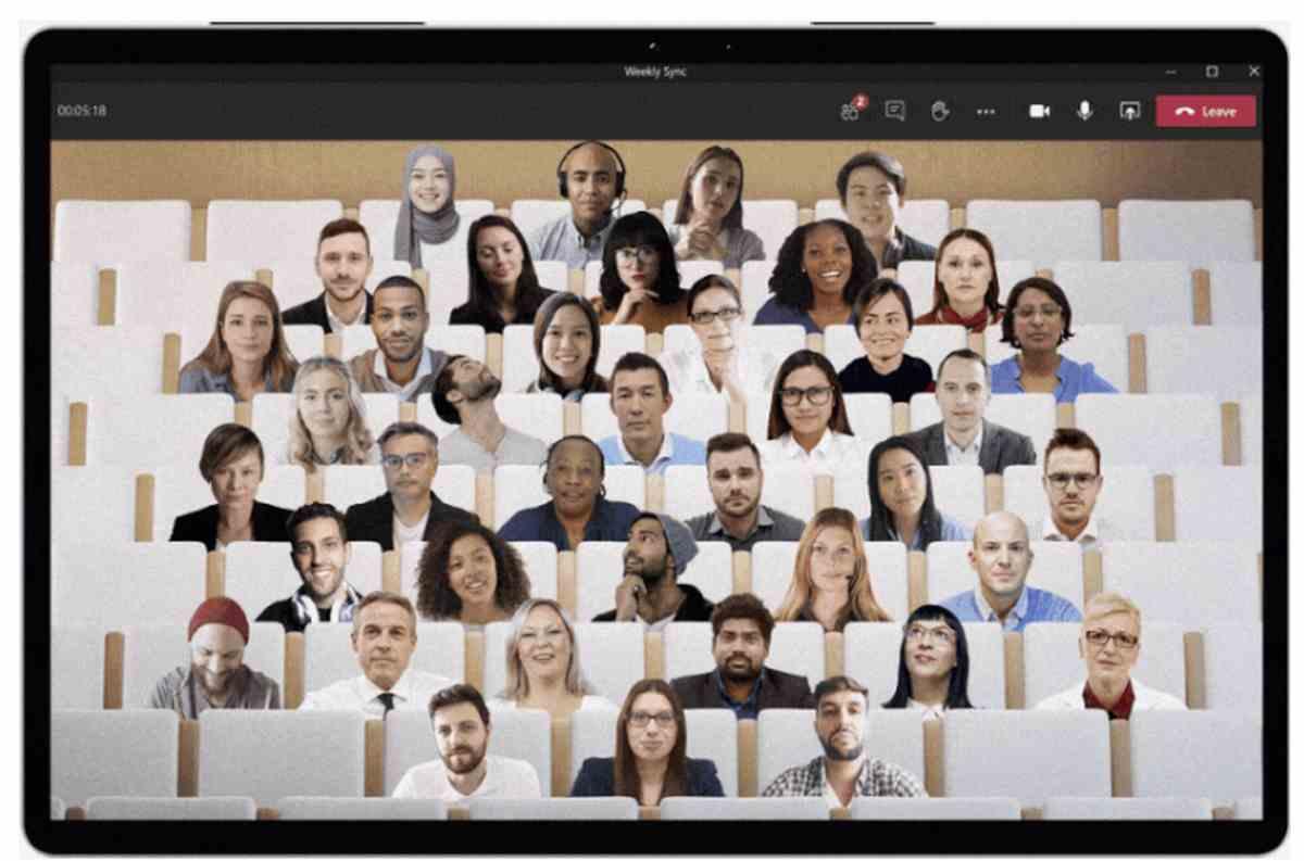 Las reuniones en espacios virtuales con avatares en vivo, lo nuevo de Microsoft Teams