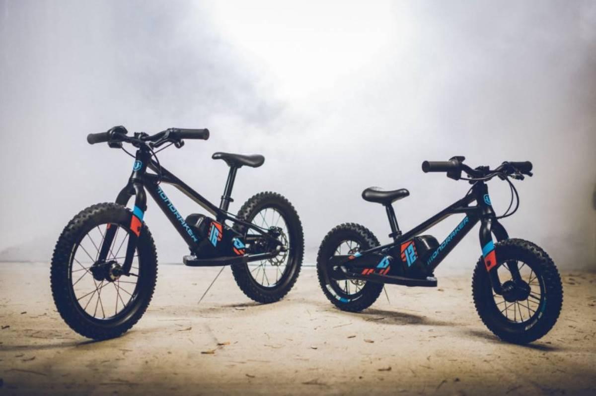 bicicleta electrica de equilibrio para niños de mondraker